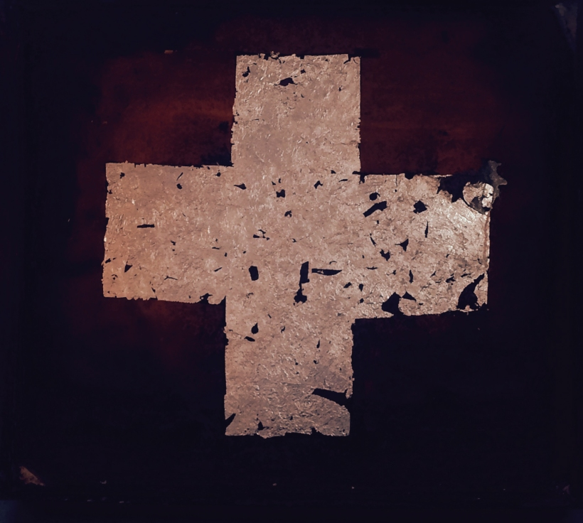 23 units of blood aluminium crosses onto rust edited